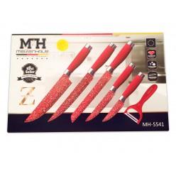 Набор из 6 ножей Meizenhaus MH-5541 оптом