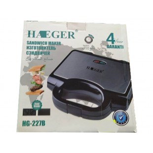 Гриль сэндвичница HAEGER HG-227B оптом