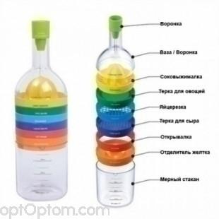 Кухонная бутылка 8 в 1 оптом