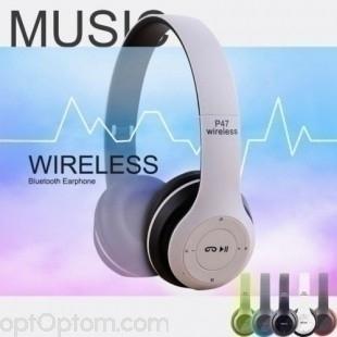 Беспроводные Bluetooth наушники P47 Wireless оптом