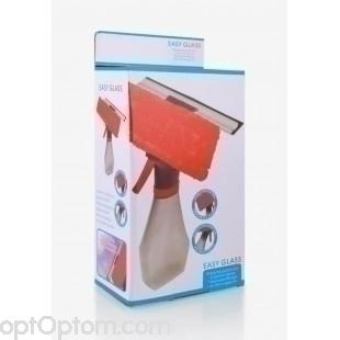 Щетка для мытья окон Easy glass 3 in 1 spray window cleaner оптом