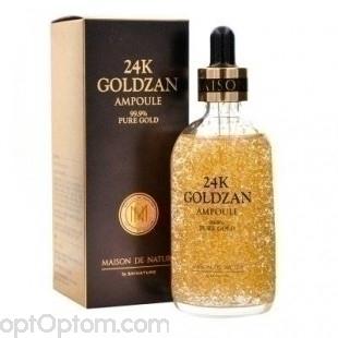 Сыворотка для лица 24K Goldzan Ampoule Pure Gold 30 мл оптом