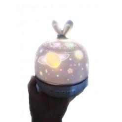 Проекционная лампа Star Light Кролик оптом