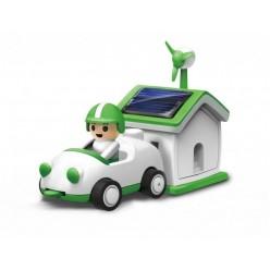 Конструктор на солнечной батарее Автомобилист Green Life Bradex оптом