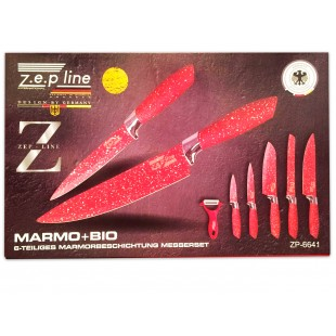 Набор из 6 ножей ZEP line ZP-6641 оптом