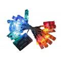 Цветная гирлянда с зажимом для фото 5 м оптом