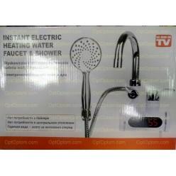 Проточный водонагреватель с душем Instant electric heating water faucet & shower оптом