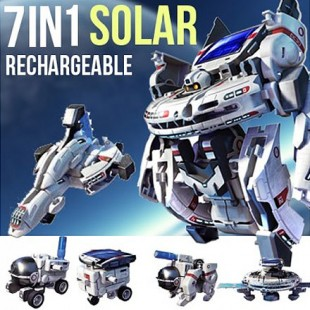 Конструктор на солнечных батареях 7в1 космический флот оптом