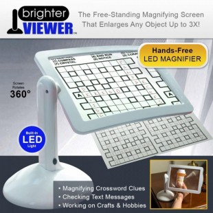 Лупа Bright Viewer с подсветкой на подставке оптом