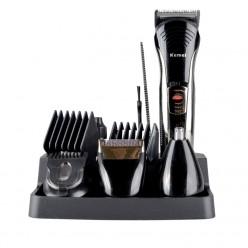 Машинка для стрижки волос kemei 590A 7 in 1 оптом