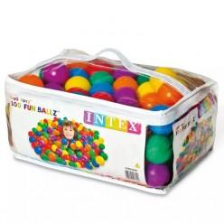Набор шариков мячей для игровых центров INTEX FUN BALLZ оптом