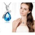 Кулон капля росы Crystal Jewelry оптом
