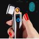 Lighter сенсорная usb зажигалка с дисплеем оптом