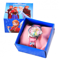 Детские наручные часы Холодное сердце в коробке оптом