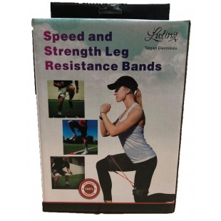 Leg expander with removable elastic bands