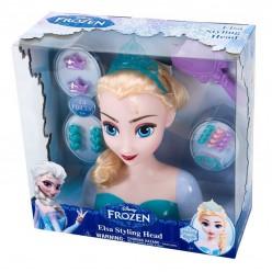 Кукла модель для создания причесок Эльза оптом