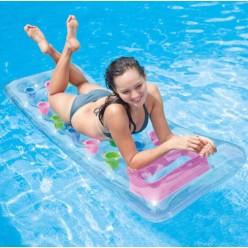 Надувной матрас для плавания с окном INTEX 188х71см оптом