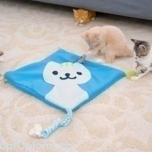 Игровой коврик для кошки Kitty Cat Mat оптом