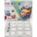 Детский набор для окрашивания гипса Gypsum paint оптом