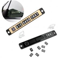 Автовизитка magnetic puzzle parking plate оптом