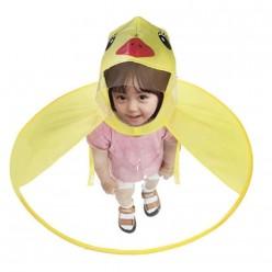 Детский дождевик с капюшоном утенок размер М оптом