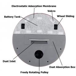 Робот пылесос Ximei smart robot оптом