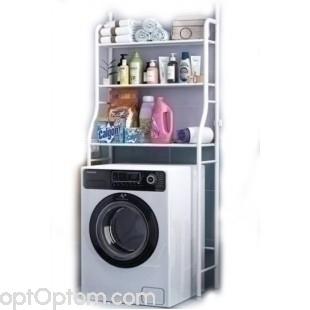 Стеллаж для ванны над стиральной машиной Washing Machine Rack TM-011 оптом