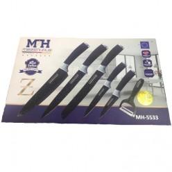 Набор из 6 ножей Meizenhaus mh 5533 оптом