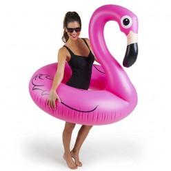Надувной круг Розовый фламинго 90 см оптом