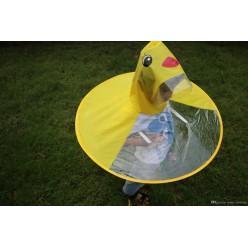Детский дождевик с капюшоном утенок размер L оптом