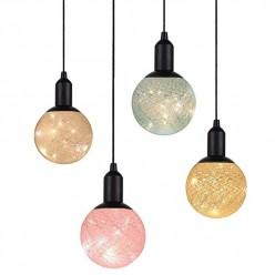 Подвесной светильник cotton ball lamp маленький оптом