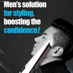 Расческа выпрямитель cordless hair comb оптом