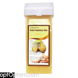Воск для депиляции в картриджах Professional Roller Depilatory Wax лемон оптом