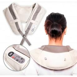 Ударный массажер для плеч и шеи cervical massage shawls оптом