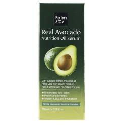 Сыворотка для лица с маслом авокадо Farmstay Real Avocado Nutrition Oil Serum оптом