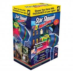 Лазерный проектор star shower motion лазерная подсветка для дома оптом
