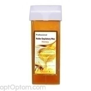 Воск для депиляции в картриджах Professional Roller Depilatory Wax мед оптом