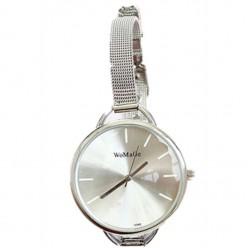 Часы с узким металлическим ремешком WoMaGe оптом