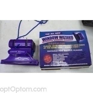 Магнитная щетка для мытья окон Window Wizard оптом