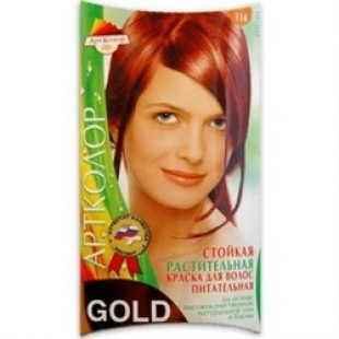 Краска для волос АртКолор Gold 108 Бронза оптом