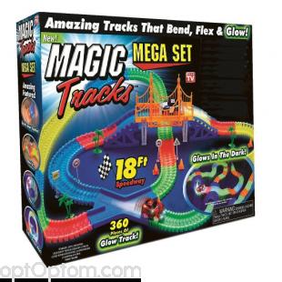 Magic Tracks 360 деталей с мостом оптом