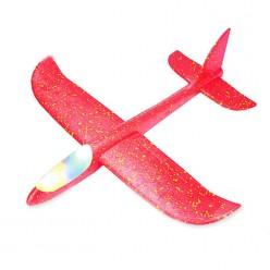 Самолет из пенопласта светящийся оптом