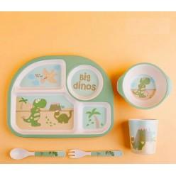 Набор детской посуды из бамбукового волокна оптом