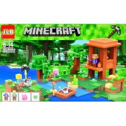 Конструктор Майнкрафт Хижина ведьмы 464 детали Minecraft оптом