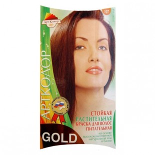 Краска для волос АртКолор Gold 107 Шоколад оптом