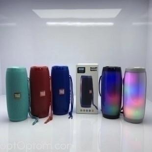 Портативная bluetooth колонка TG-157 с подсветкой оптом