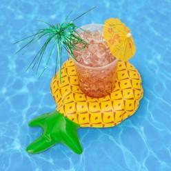 Надувной подстаканник ананас оптом