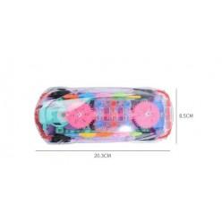 Прозрачная машинка с шестеренками оптом
