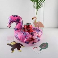 Надувной подстаканник фламинго оптом