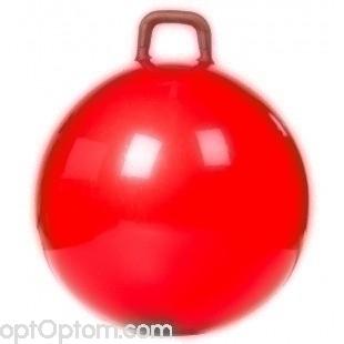 Мяч гимнастический с ручкой оптом